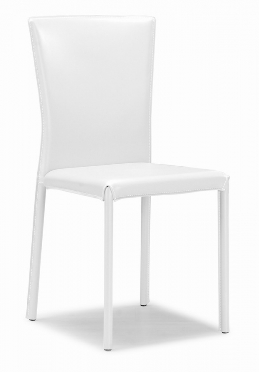 Verranda Dining Chair - White - Zuo Modern