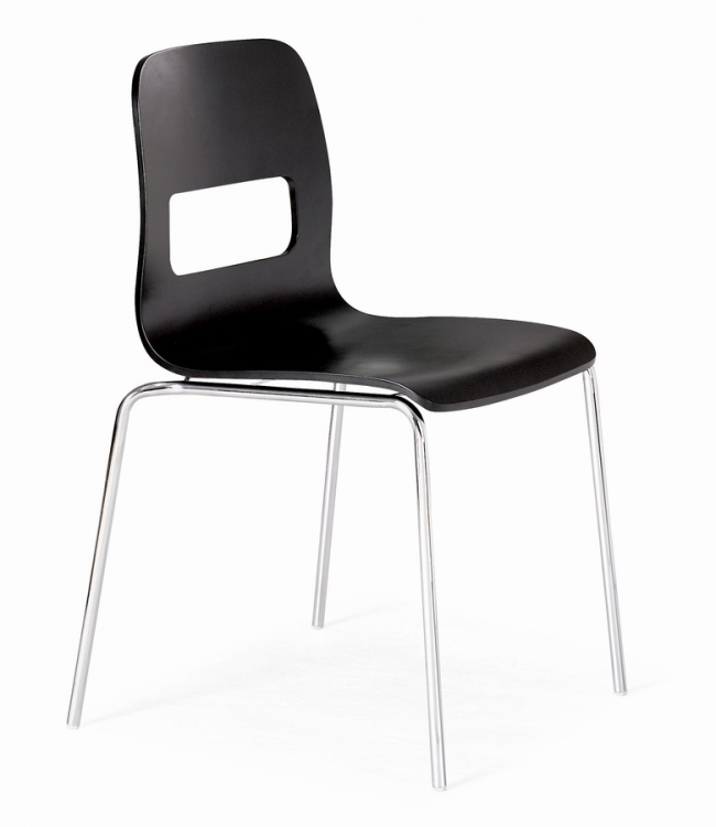 Escape Dining Chair - Black - Zuo Modern