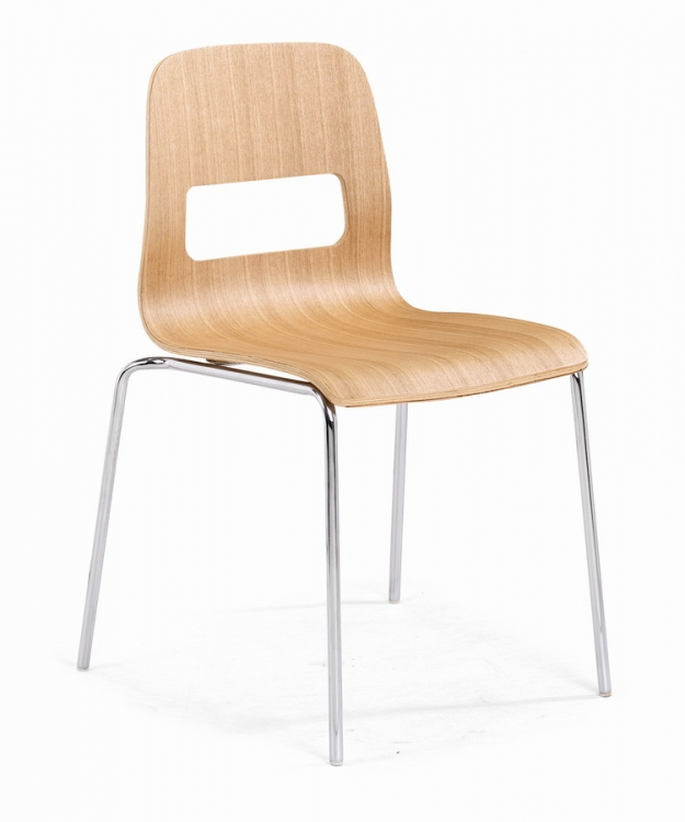 Escape Dining Chair - Natural - Zuo Modern