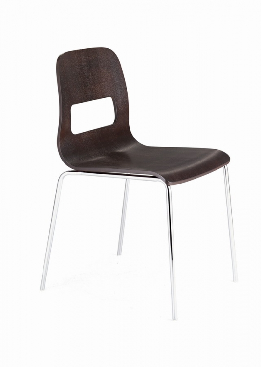 Escape Dining Chair - Wenge - Zuo Modern