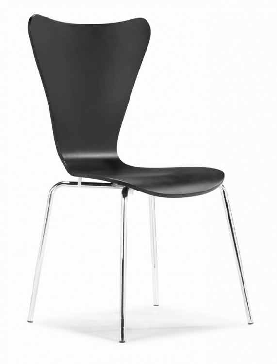 Taffy Dining Chair - Black - Zuo Modern