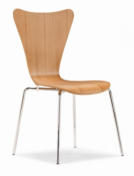 Taffy Dining Chair - Natural - Zuo Modern