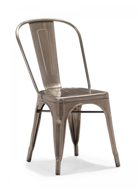 Elio Dining Chair - Gunmetal