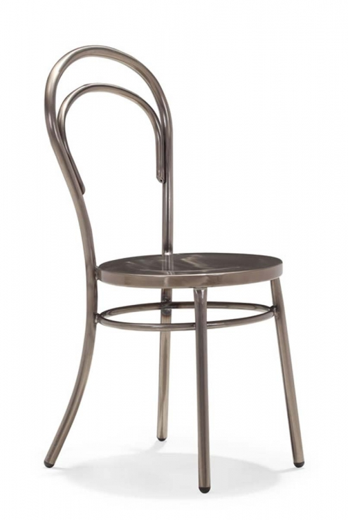Talus Dining Chair - Gunmetal - Zuo Modern