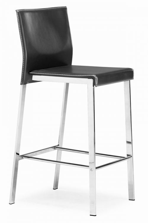 Boxter Counter Stool - Black - Zuo Modern