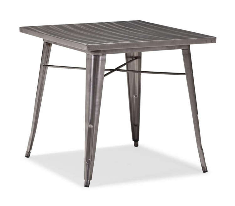 Olympia Dining Table - Gunmetal - Zuo Modern