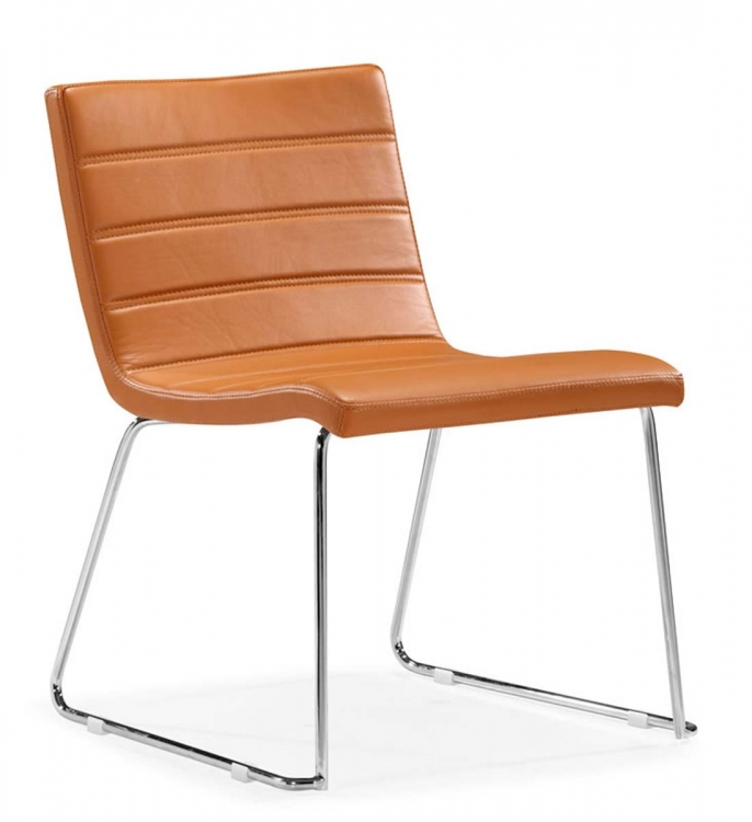 Tag Dining Chair - Terracota - Zuo Modern