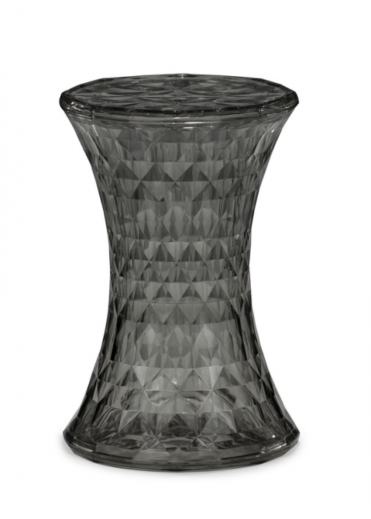 Prisma Stool - Transparent Gray - Zuo Modern