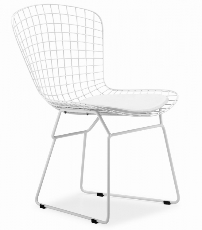 Wire Chair - White - Zuo Modern