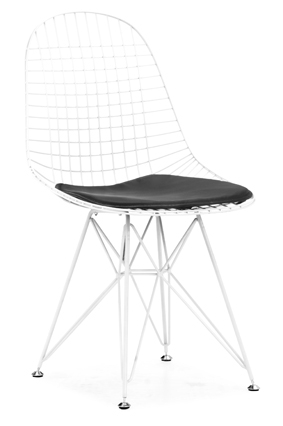 Mesh Chair - White - Zuo Modern