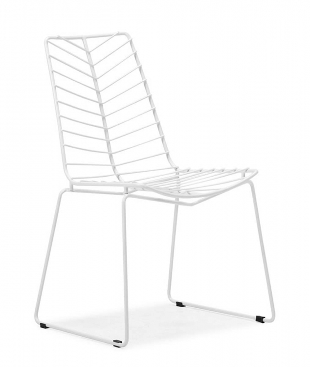 Wendover Dining Chair - White - Zuo Modern