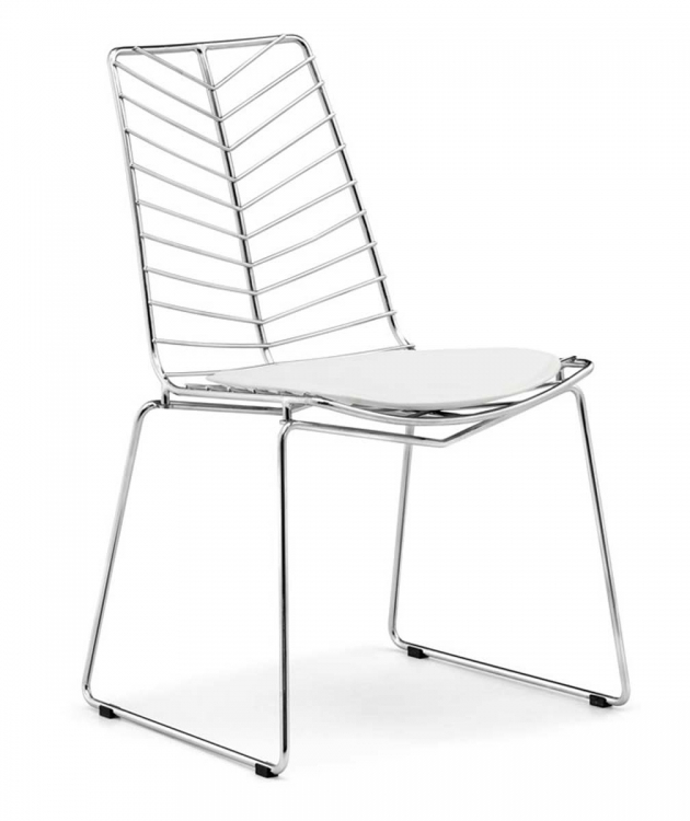 Wendover Dining Chair - Chrome - Zuo Modern
