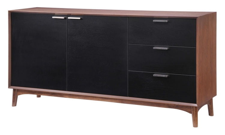 Liberty City Buffet - Walnut/Black