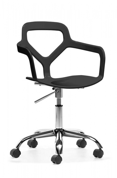 Angle Office Chair - Black - Zuo Modern