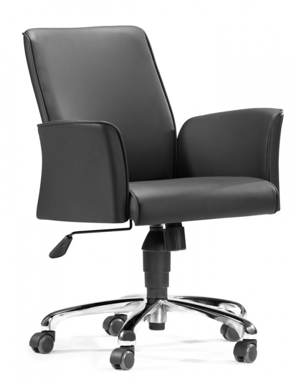 Metro Office Chair - Black - Zuo Modern