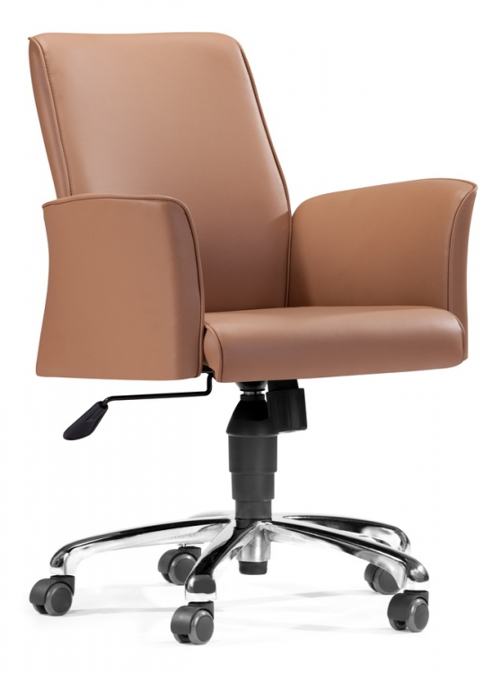 Metro Office Chair - Beige - Zuo Modern