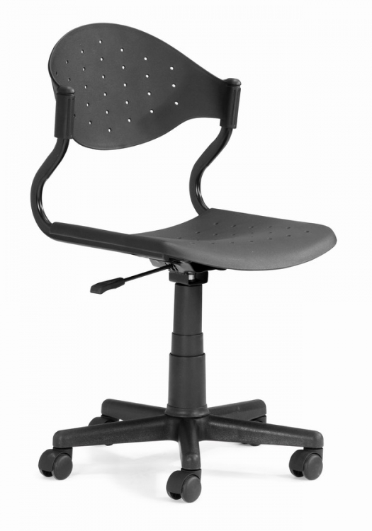 Sarge Office Chair - Black - Zuo Modern