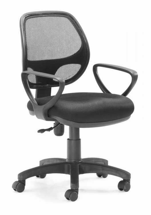 Analog Office Chair - Black - Zuo Modern