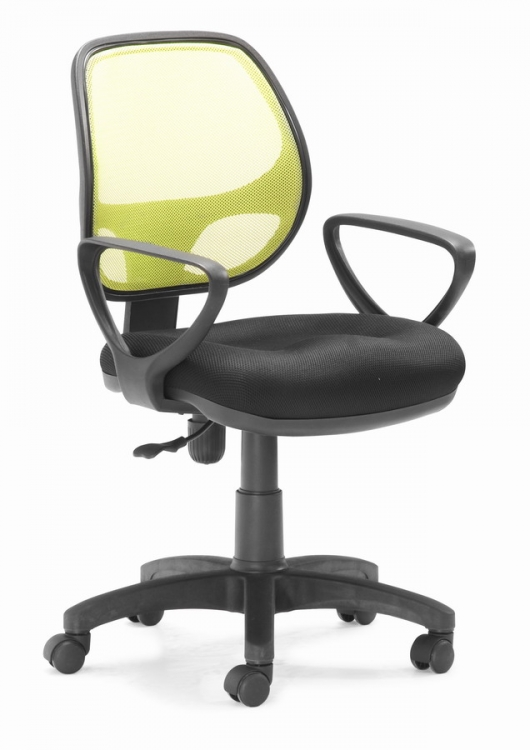 Analog Office Chair - Lime - Zuo Modern