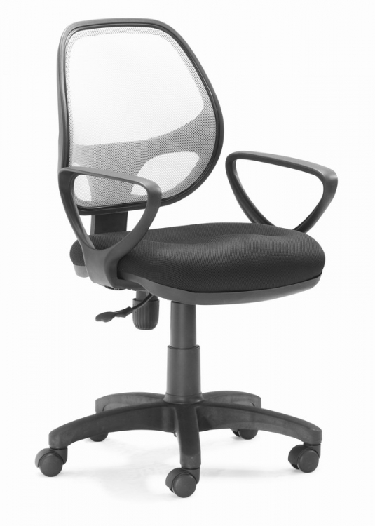 Analog Office Chair - Gray - Zuo Modern