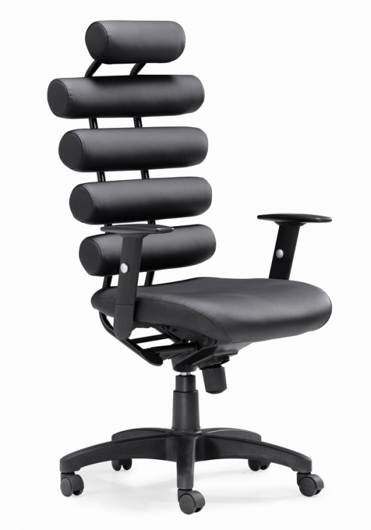 Unico Office Chair - Black - Zuo Modern