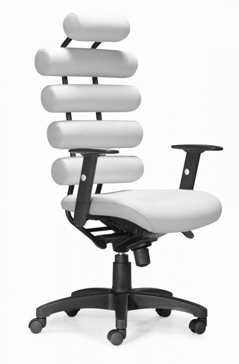 Unico Office Chair - White - Zuo Modern