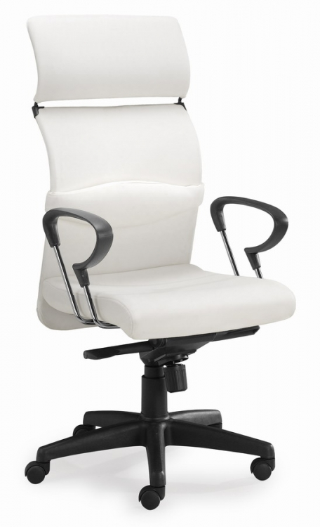 Eco Office Chair - White - Zuo Modern
