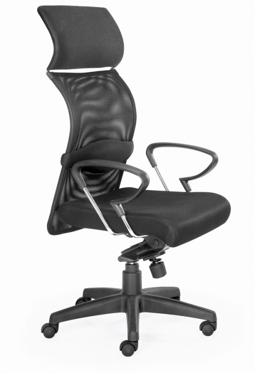 Eco Office Chair - Black Mesh - Zuo Modern