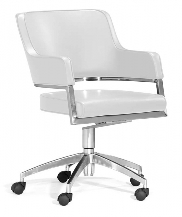 Performance Office Chair - White - Zuo Modern