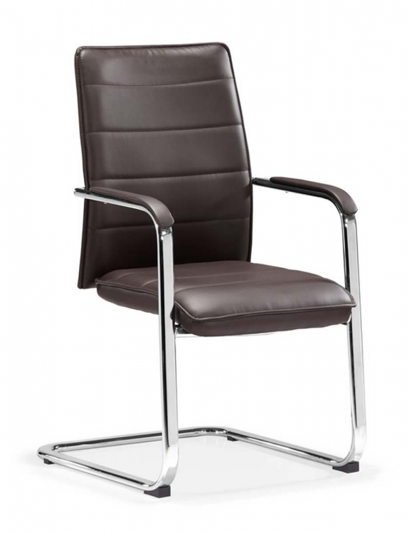Enterprise Conference Chair - Espresso - Zuo Modern