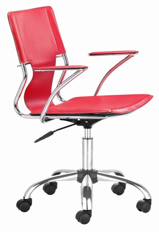 Trafico Office Chair - Red