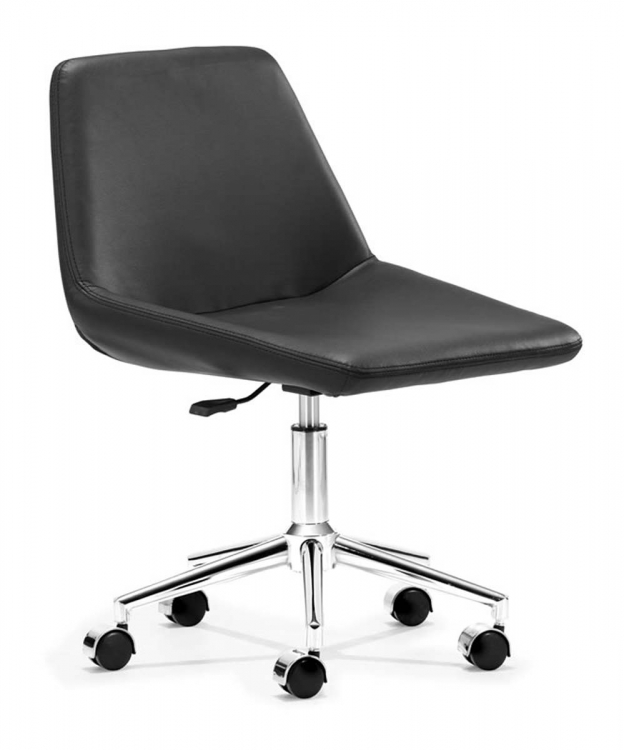 Zen Office Chair - Black - Zuo Modern