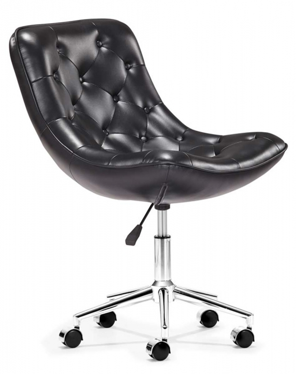 Bon Bon Office Chair - Black - Zuo Modern