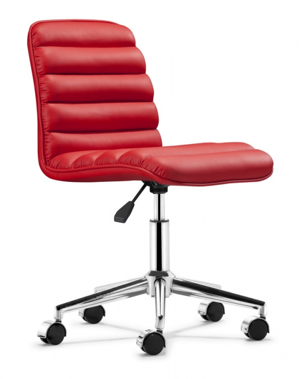 Admire Office Chair - Red - Zuo Modern