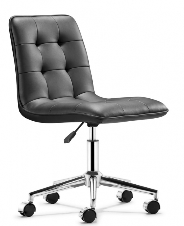 Scout Office Chair - Black - Zuo Modern