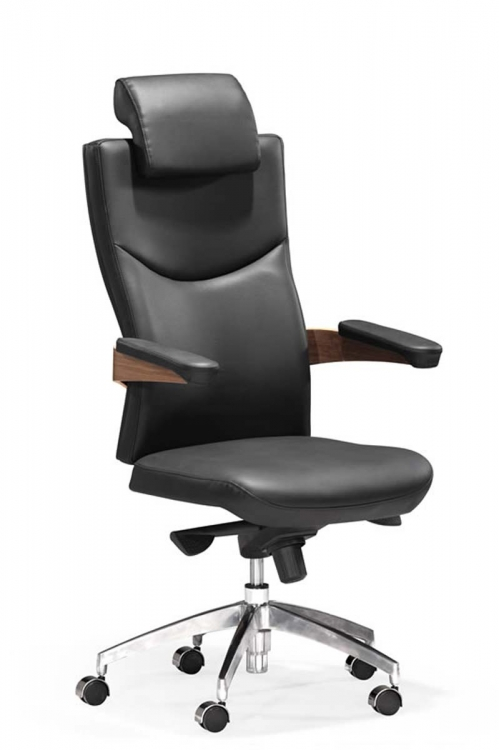 Chairman Office Chair - Black - Zuo Modern