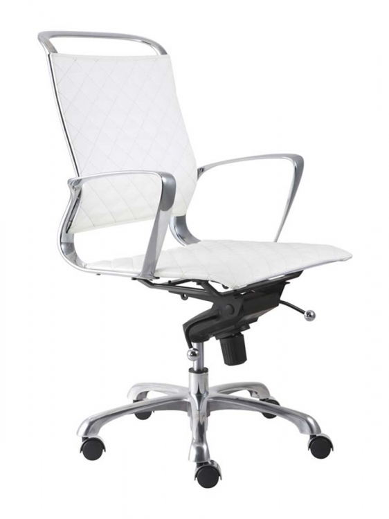 Jackson Office Chair - White - Zuo Modern
