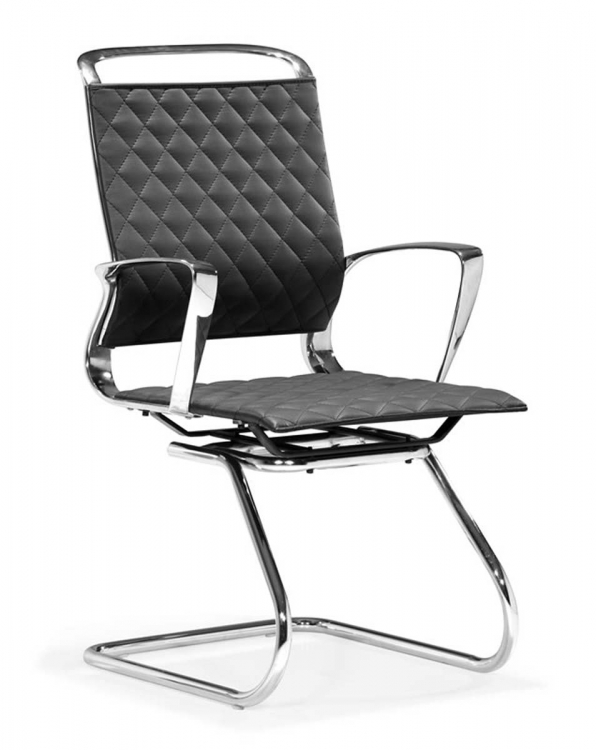 Jackson Conference Chair - Black - Zuo Modern