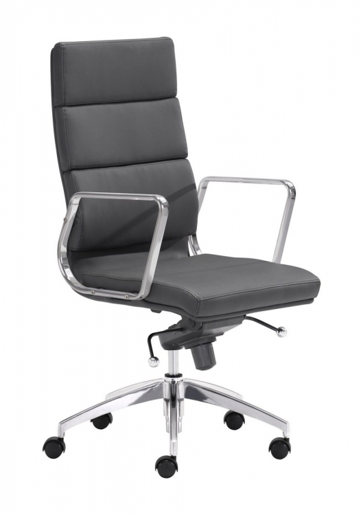 Engineer High Back Office Chair - Black