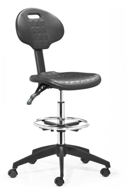 Ark Drafters Chair - Black