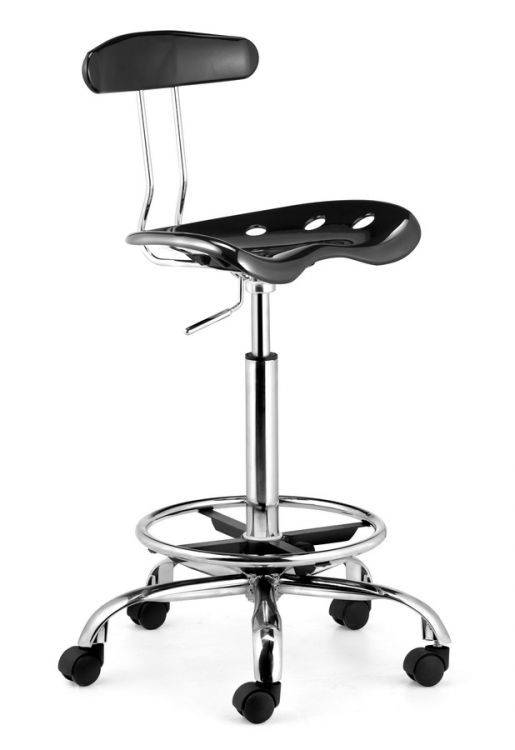 Farallon Drafters Chair - Black