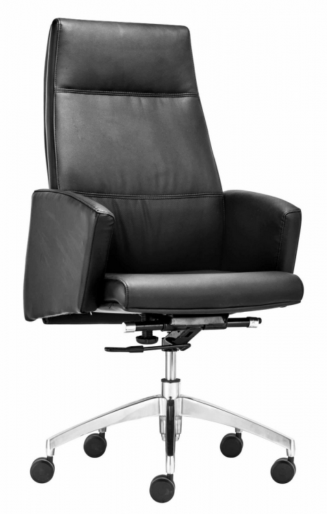 Chieftain High Back Office Chair - Black