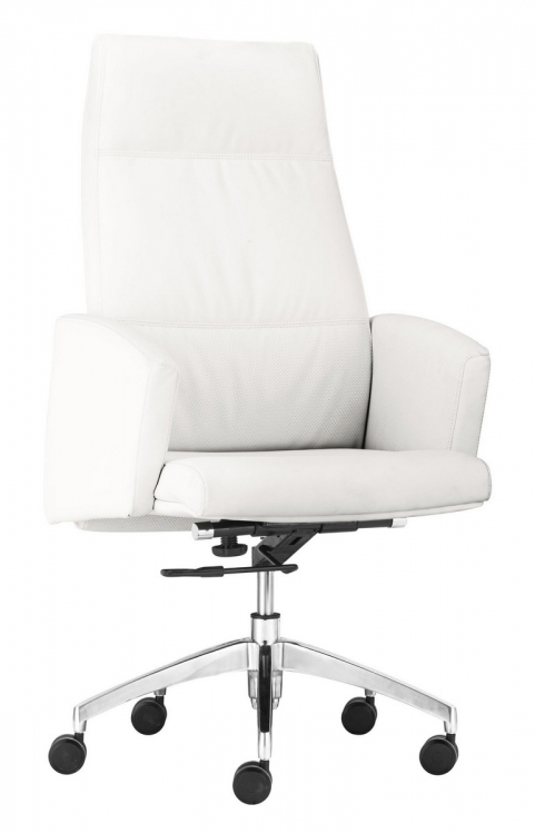 Chieftain High Back Office Chair - White