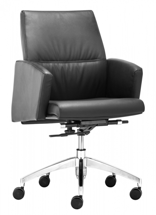 Chieftain Low Back Office Chair - Black