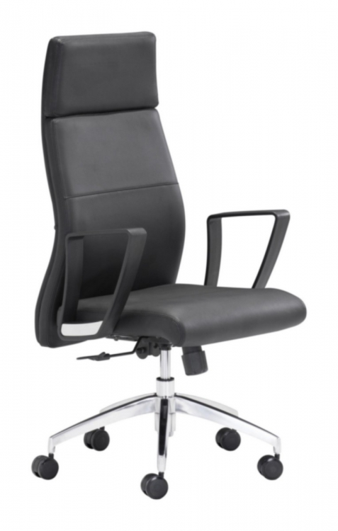 Conductor High Back Office Chair - Black