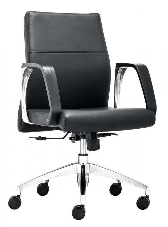 Conductor Low Back Office Chair - Black