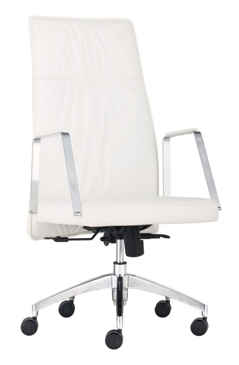 Dean High Back Office Chair - White