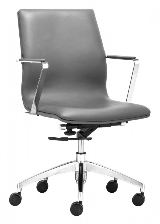 Herald Low Back Office Chair - Gray