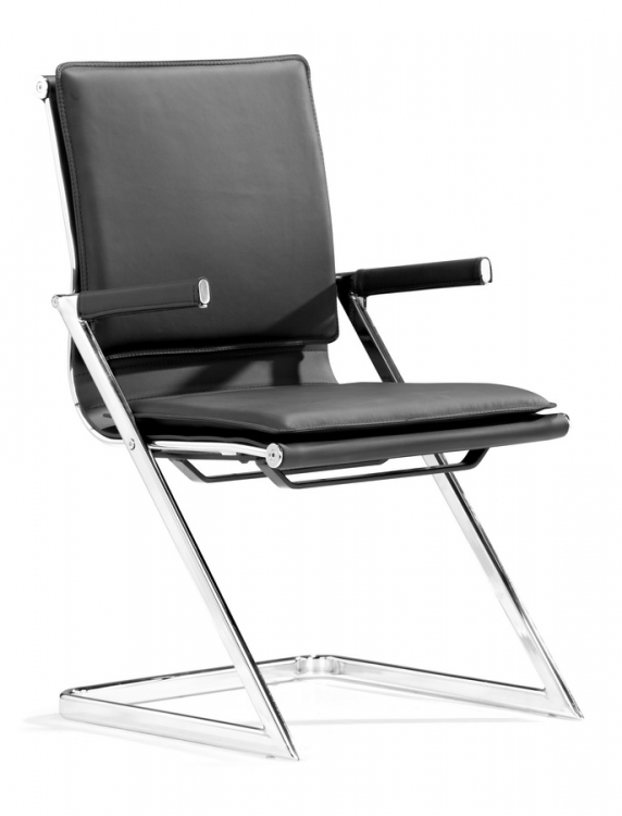 Lider Plus Conference Chair - Black - Zuo Modern