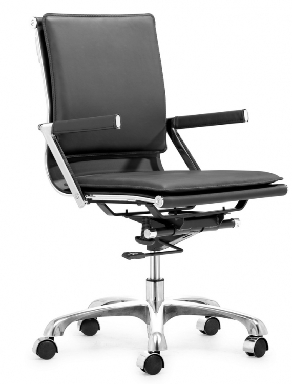 Lider Plus Office Chair - Black - Zuo Modern
